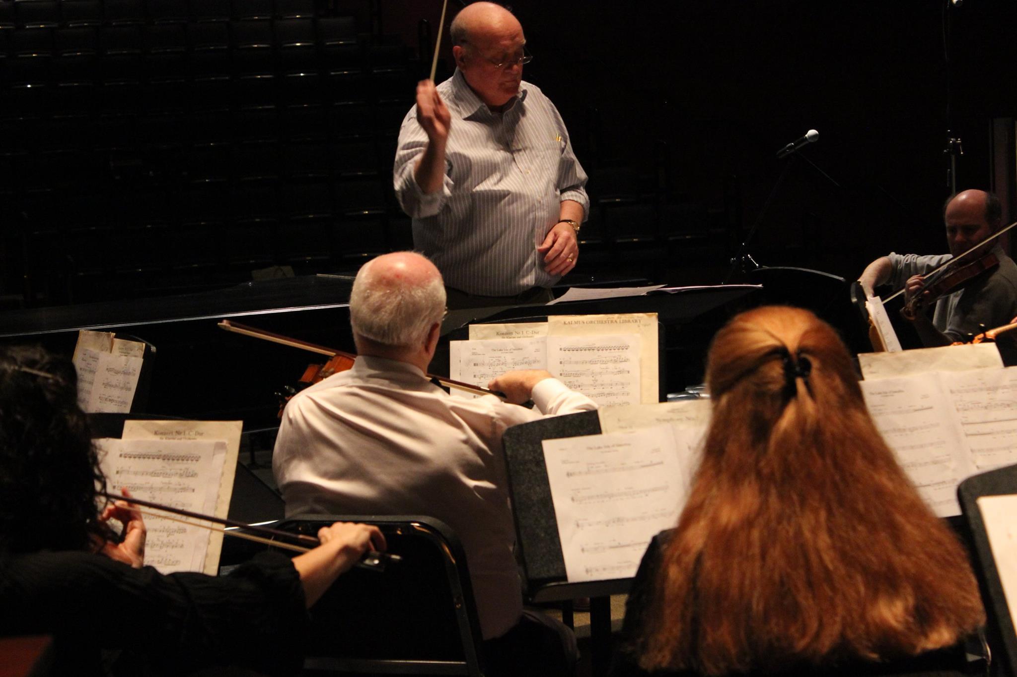 Clinton Symphony Orchestra Practice